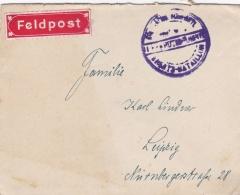 Feldpost WW1: Kgl. Sachs. Fussartillerie Regiment 12 Without Postmark - Cover Only  (T8A18)