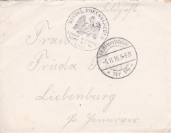 Feldpost WW1: Kgl. Pr. Landwehr Infanterie Regiment 74 P/m 5.11.1915 By Feldpoststation Nr. 14 - Letter Inside Signed Fl