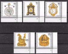 Bund 1992 / MiNr.   1631 – 1635  Rechte Untere Ecken    ** / MNH   (e583)