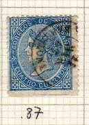 ESPAGNE - ANCIENNE COLLECTION SUR CHARNIERE - YT N° 87 COTE 1.25 €