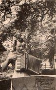 Photo Originale Musique, Musicienne & Accordéon En 1943 - Coiffure Banane & Akkordeon Schüle - Personnes Anonymes