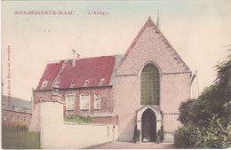 Bois-Seigneur-Isaac - L'Abbaye (animée, Colorisée, Phototypie Marco Marcovici, Edit Lesseigne) - Eigenbrakel