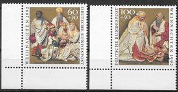 Bund 1992 / MiNr.   1639 – 1640  Linke Untere Ecken    ** / MNH   (e584)