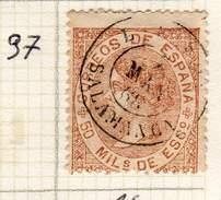 ESPAGNE - ANCIENNE COLLECTION SUR CHARNIERE - YT N° 97 SALAMANCA