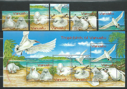 Vanuatu  2004 Red-tailed Tropic Birds.stamps And S/S.MNH