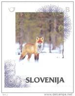 Slovenia Slovenie Slowenien 2014 Personalized Stamp: Winter Fox In The Snow; Fuchs Fauna