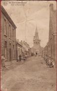 SINT-JOORIS St SINT-JORIS TEN DISTEL : Kerk En Kerkstraat (erg Beschadigd)