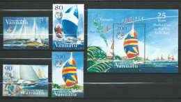 Vanuatu  2004 The 25th Anniversary Of The Musket Cove - Port Vila Yacht Race.stamps And S/S.MNH