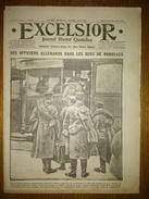 Excelsior N°2236 29/12/1916 Des Officiers Allemands Dans Les Rues De Bordeaux - Guynemer - Armée Roumaine - Salonique - Journaux - Quotidiens