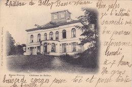 Basse-Wavre - Château De Belloy (Charlier-Niset, Précurseur, 1901, Animée, Attelage) - Waver