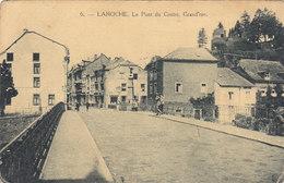 Laroche - Le Pont Du Centre, Grand'rue (petite Animation, Henri Georges)