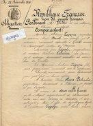 VP9238 - CLAIRAC - Acte De 1880 - Obligation Par La Famille LAPEYRE De MONTPEZAT à PECHAUBES - Manuscripten