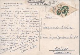 Obliteração SPM.EPM.8-Estação Postal Militar - Guiné.Viagem Do Paquete 'Uíge' De Lisboa/Guiné 1964 Com Tropas.2 Scan.Rar