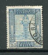 LIBYEE- Colonie Italienne- Y&T N°27- Oblitéré - Libya