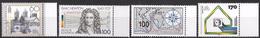 Bund 1993 / MiNr.   1645 , 1646 , 1647 , 1648  Rechte Ränder   ** / MNH   (e586)