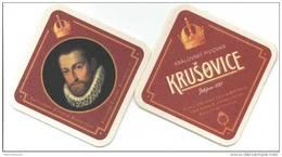 Krusovice. Kralovsky Pivovar. Zalozeno 1581. Pivovar Cisare Rudolfa II.V Roce 1583 Ziskal. A Ucinil Z Nej Svuj Kralovsky - Sous-bocks