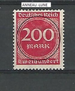 1923  N° 244 FILIG B  NEUF SANS GOMME DOS CHARNIERE DESCRIPTION