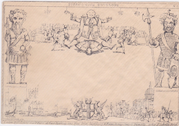 Great Britain Fores,s Illustrated Envelope - 1840 Mulready-Umschläge