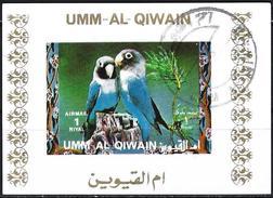 Umm Al-Qiwain 1972 - Tropical Birds ( Mi B1406B - YT Xxx ) Block Impeforated