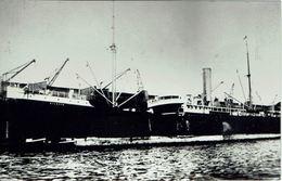Ship Photo SS Silesia Hamburg-America Line 1897 Hamburg-Amerika Linie - Boats