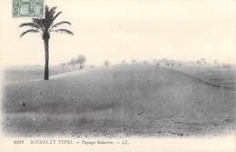 Tunisie-  Scènes Et Types Paysage Saharien -Carte Postée à Carthage En 1909  (- Editions : LL 6222- ) *PRIX FIXE - Tunisia
