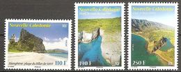 Neukaledonien Nouvelle Caledonie 2013 Paysages Sceneries Landschaften Michel No. 1636-38 MNH Postfr. Neuf