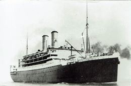 Steam Ship Photo RMS Orama Orient Steam Navigation Co - Boats