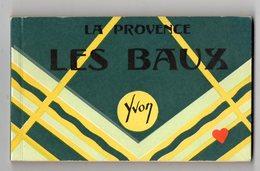 39161-ZE-13-LA PROVENCE--LES BEAUX------carnet Album De 20 CPM Brunes