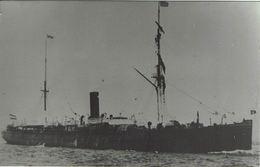 Steam Ship Photo SS Suevia Hamburg America Line - Boats