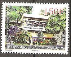 Neukaledonien Nouvelle Caledonie 2014 Maison Du Combattant Noumea Kriegsveteranen Michel No. 1646 MNH Postfr. Neuf