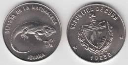 1985-MN-100 CUBA 1$ 1985. IGUANA. LIZARD. FAUNA. UNC. CU-NI - Cuba