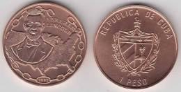 1993-MN-101 CUBA 1$ 1993 US USA ABRAHAM LINCONL UNC. COPPER - Cuba