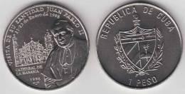 1998-MN-100 CUBA 1$ 1999 JOAN PAUL II VISIT CUBA. PAPA JUAN PABLO II UNC. POLAND VATICAN CITY CU- - Cuba