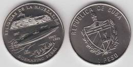 2000-MN-106 CUBA 1$ 2000 SUBMARINE ISAAC PERAL SHIP UNC. CU-NI - Cuba