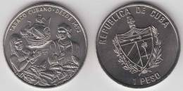 2005-MN-100 CUBA 1$ 2005 TOBACCO ANIV DISCOVERY INDIAN & COLON COLUMBUS UNC. CU-NI - Cuba