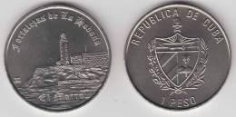 2007-MN-105 CUBA 1$ 2007 OLD HAVANA MORRO CASTLE LIGHTHOUSE UNC. CU-NI - Cuba