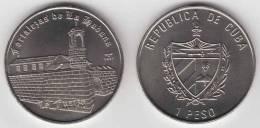 """2007-MN-106 CUBA 1$ 2007 OLD HAVANA """"LA FUERZA"""" CASTLE UNC. CU-NI - Cuba"""