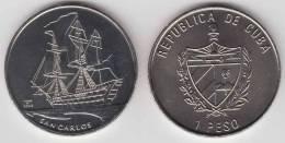 2008-MN-105 CUBA 1$ 2004 BARCO SHIP SAN CARLOS UNC. CU-NI - Cuba