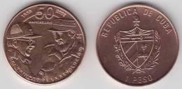 2009-MN-100 CUBA 1$ 2009 FIDEL CASTRO AND RAUL CASTRO. 50 ANIV REVOLUTION. UNC. COPPER - Cuba