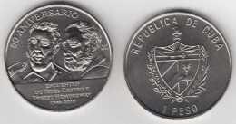 2010-MN-100 CUBA 1$ 2010 FIDEL CASTRO. ERNEST HEMINGWAY. UNC. CU-NI - Kuba