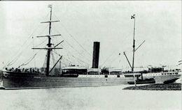 Ship Photo Print Steam Merchant SS Ardjoeno Rotterdam Lloyd - Boats