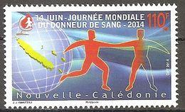Neukaledonien Nouvelle Caledonie 2014 Journee Mondiale Du Donneur Du Sang Weltblutspendetag Michel No. 1652 MNH Pf Neuf