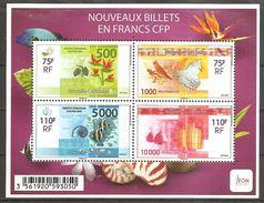 Neukaledonien Nouvelle Caledonie 2014 Nouveaux Billets Michel No. Bl. 50 (1639-42) MNH Postfr. Neuf