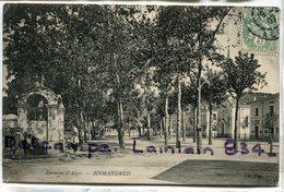 - 154 - Environs D'Alger - BIRMANDREIS, Fontaine, J, Pour Grenelle Paris,  écrite, 1907, TBE, Scans. . - Alger