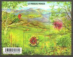 Neukaledonien Nouvelle Caledonie 2014 Le Maquies Minier Unterholz Der Minengebiete Michel No. Bl. 51 (1654-56) MNH Neuf - Ungebraucht