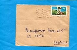 MARCOPHILIE-lettre-DAHOMEY->Françe-cad 1976 -stamp N° 282  Europa  Afrique