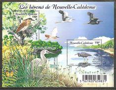 Neukaledonien Nouvelle Caledonie 2015 Les Herons Reiher Michel No. Bl. 52 (1673-75) Postfr. MNH Neuf