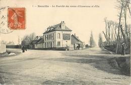 NEUVILLE FOURCHE DES ROUTES D'ENVERMEU ET D'EU 76 - France