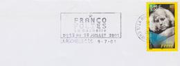 Cultures : Flamme La Rochelle (Charente Mme) Franco Folies Du 13 Au 18 Juillet 2001