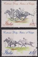 ITALIA - Serie 2 Valori Usati - Centenario Derby Italiano Di Galoppo - 12.5.1984